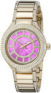 [マイケル・コース]Michael Kors  Mini Kerry Analog Display Analog Quartz Gold Watch MK3442