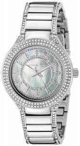 [マイケル・コース]Michael Kors Mini Kerry Analog Display Analog Quartz Silver Watch MK3441