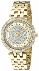 [マイケル・コース]Michael Kors  Mini Darci Analog Display Analog Quartz Gold Watch MK3445