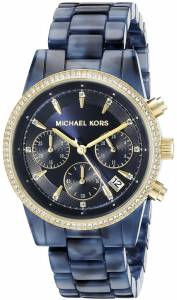 [マイケル・コース]Michael Kors  Ritz Analog Display Analog Quartz Blue Watch MK6278