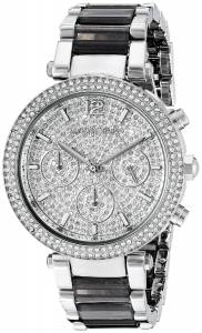 [マイケル・コース]Michael Kors  Parker Analog Display Analog Quartz Silver Watch MK6284