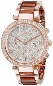 [マイケル・コース]Michael Kors  Parker Analog Display Analog Quartz Rose Gold Watch MK6285