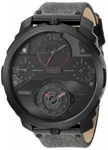 [ディーゼル]Diesel  Machinus Analog Display Analog Quartz Black Watch DZ7358 メンズ