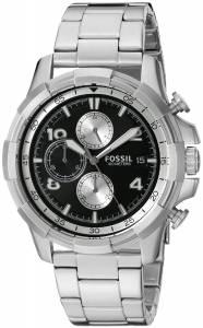 [フォッシル]Fossil 腕時計 Analog Display Analog Quartz Silver Watch FS5112 メンズ