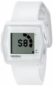 [ヌーカ]NOOKA 腕時計 Digital Display Quartz White Watch ZUBZIBIZIRCWT ユニセックス