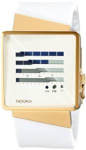[ヌーカ]NOOKA 腕時計 Digital Display Quartz White Watch ZIZMZENHGW ユニセックス