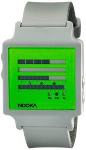 [ヌーカ]NOOKA 腕時計 Digital Display Quartz Grey Watch ZENHKCG ユニセックス