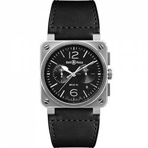 [ベルアンドロス]Bell & Ross 腕時計 BR0394-BL-SI/SCA メンズ