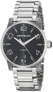 [モンブラン]MONTBLANC Timewalker Date Automatic Black Dial Stainless Steel Swiss Watch 105962