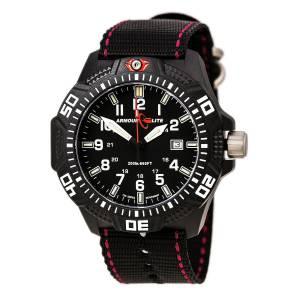 [アーマーライト]Armourlite Caliber Series Black Dial Watch with Tritium Illumination AL603