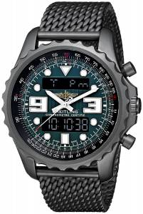 [ブライトリング]Breitling Professional Chronospace Black Stainless Steel Quartz M7836522-L521