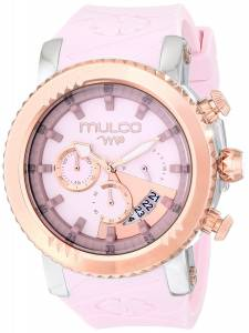 [マルコ]MULCO Rose GoldTone Stainless Steel Watch with Pink Silicone Band MW5-2870-813