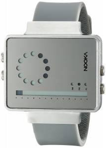 [ヌーカ]NOOKA 腕時計 Digital Display Quartz Grey Watch ZIRCVMR ユニセックス