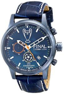 [ジャックルマン]Jacques Lemans UEFA Champions League Analog Display Quartz Blue Watch U-42B