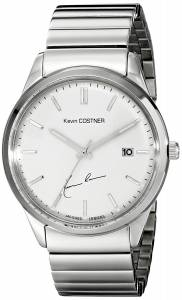 [ジャックルマン]Jacques Lemans Kevin Costner Collection Analog Display Quartz Silver KC-102D