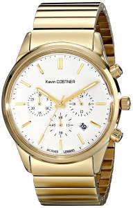 [ジャックルマン]Jacques Lemans Kevin Costner Collection Analog Display Quartz Gold KC-103E