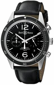 [ベルアンドロス]Bell & Ross Vintage Analog Display Swiss Automatic Black Watch BR126-SPORTBLK