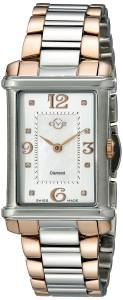 [ジェビル]GV2 by Gevril  Principessa Analog Display Quartz Two Tone Watch 8402 レディース