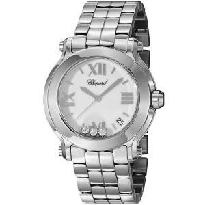 [ショパール]Chopard  Analog Display Swiss Quartz Silver Watch 278477-3013 レディース
