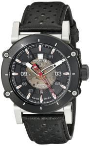[ゾディアック]Zodiac  ZMX2 Black Stainless Steel Watch with Black Band ZO8570 メンズ