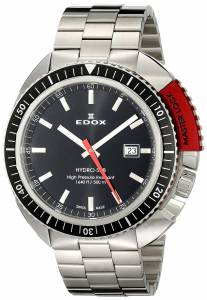 [エドックス]Edox  Hydro Sub Analog Display Swiss Quartz Silver Watch 53200 3NRM NIN メンズ