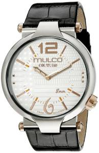 [マルコ]MULCO  Couture Slim Analog Display Swiss Quartz Black Watch MW5-3183-021 メンズ