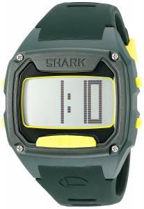 [フリースタイル]Freestyle Shark Tooth Digital Display Japanese Quartz Black Watch 10025775