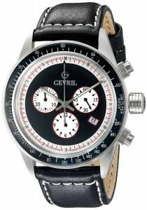 [ジェビル]Gevril 腕時計 Tribeca Stainless Steel Black Watch A2110 メンズ [並行輸入品]