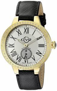 [ジェビル]GV2 by Gevril 腕時計 Astor Analog Display Swiss Quartz Watch 9107 レディース