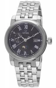 [ジェビル]Gevril 腕時計 CORTLAND Analog Display Swiss Quartz Silver Watch 2527 メンズ
