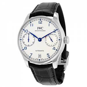 [アイダブルシー]IWC 腕時計 Portugieser Automatic Black Strap Watch IW500705 メンズ