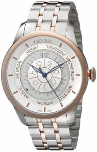 [ジェビル]Gevril  Columbus Circle Analog Display Automatic Self Wind Two Tone Watch 2003B