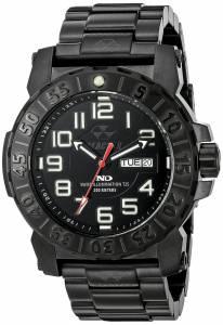 [リアクター]REACTOR 腕時計 Trident 2 Analog Display Quartz Black Watch 50501 メンズ