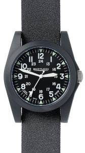 [ベルトゥッチ]bertucci  A3P Sportsman Vintage Field Black Tridura Analog Quartz Watch 13353