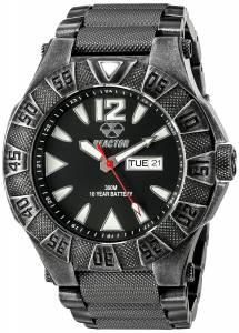 [リアクター]REACTOR  Gamma Analog Display Japanese Quartz Silver Watch 53601 メンズ