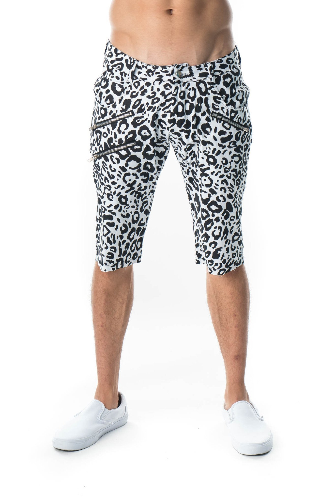 Party Rock Clothing★パーティーロッククロッシング ★La Freak Cheetah Huck Finns(ホワイト)