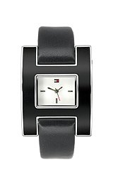 [トミー ヒルフィガー]Tommy Hilfiger  Hshape White Dial watch # 1781097 レディース