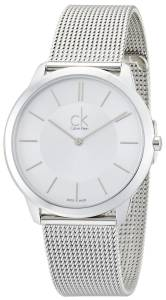 [カルバン クライン]Calvin Klein Swiss Made Minimal K3M21126 Wristwatch for Him ck minimal