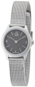 [カルバン クライン]Calvin Klein K3M53154 24mm Steel Bracelet & Case Mineral Watch ck minimal