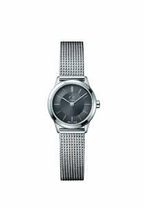 [カルバン クライン]Calvin Klein  Silver Mesh Band Watch, K3M23124 ck minimal