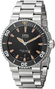 [オリス]Oris  Divers Analog Display Swiss Automatic Silver Watch 73376534159MB メンズ