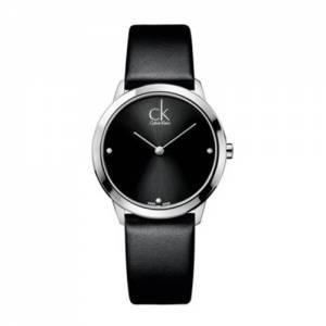 [カルバン クライン]Calvin Klein 腕時計 ck Minimal Leather Watch Black K3M231CS