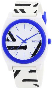 [ニクソン]NIXON 腕時計 A1191801 The Watch Time Teller P White Cobalt [並行輸入品]