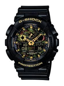 [カシオ]Casio 腕時計 Watch Gshock Men´s Multicolour GA-100CF-1A9ER [逆輸入]