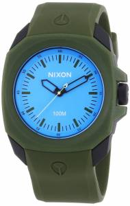 [ニクソン]NIXON 腕時計 Ruckus Blue Dial Polyurethane Quartz Watch A3491536-00 メンズ
