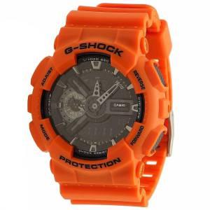 [カシオ]Casio  GShock Rescue Black Dial Resin Multi Quartz Watch GA110MR4A GA110MR-4A メンズ