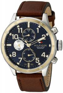[トミー ヒルフィガー]Tommy Hilfiger Cool Sport TwoTone Stainless Steel Watch with 1791137