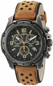 [タイメックス]Timex  Expedition Rugged Stainless Steel Watch with Brown Band TW4B015009J
