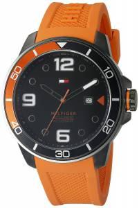 [トミー ヒルフィガー]Tommy Hilfiger  Analog Display Quartz Red Watch 1791154 メンズ
