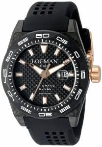 [ロックマン]Locman Stealth 300 Metri Analog Display Automatic Self Wind Black 0216V4-CBCB5N0S2K